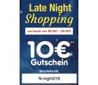 @netto: 10€ Gutschein (MBW69.99€) für Late Night Shopping heute abend