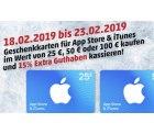 Penny: online oder Filiale 15% auf iTunes Karten