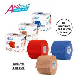 Physio-Tapes für kinesiologisches Taping, hochelastisch für 17,01€ statt Idealo ab 20,99€ + VSK @Amazon