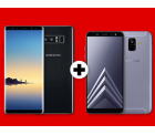Samsung Galaxy Note 8 + Galaxy A6 2018 für 499 € (635,75 € Idealo) Media-Markt und Saturn