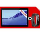 Saturn: HUAWEI MediaPad T5 Tablet mit 10,1 Zoll und Android 8 + Huawei Band 2 Pro für nur 209,99 Euro statt 240,35 Euro bei Idealo