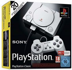 Sony PlayStation Classic Konsole Inkl. 20 PlayStation Games für 39 € (49,27 € Idealo) @Saturn und Media-Markt