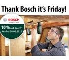 Voelkner: 10% Rabatt auf alle Bosch Produkte mit Gutschein ohne MBW