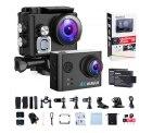 WiMiUS Action Cam, Actioncam 4k WiFi 40M Unterwasserkamera für 24,35€ inkl. Versand anstatt 48,69€ dank 50% Coupon @amazon