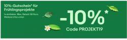 10% Rabatt auf Haus, Garten und Heimwerker Produkte @ebay