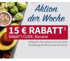 15€ Rabattgutschein für den real Lebensmittelshop mit 90€ MBW