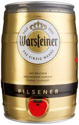 Amazon (Prime) – Warsteiner Premium Pilsener 5 Liter Partyfass mit Zapfhahn für 7,87€ (16,25€ PVG)