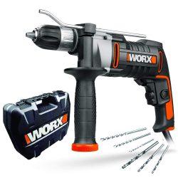 Amazon – WORX WX318 Schlagbohrmaschine für 47,99€ (61,98€ PVG)
