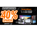 [Bis 6.Juli] Bis zu 40% Rabatt auf Technik im Black Weekend @Notebooksbilliger