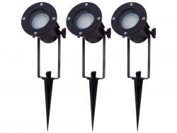 Bis zu 81% Rabatt auf Ritos Gartenbeleuchtung im Flash-Sale @iBOOD z.B. 3 x LED-Strahler mit Erdspieß für 33,90 € (73,46 € Idealo)