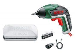 Bosch Akkuschrauber IXO (5. Generation, 10 Bits, USB Ladegerät, Dose für 29,71€ inkl. Versand anstatt 34,95€ dank Gutschein @amazon