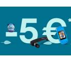 Ebay – 5€ Gutschein ohne MBW auf ausgewählte Artikel Freebies wie Kopfhörer oder Sonnenbrillen möglich