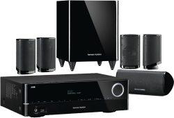 Harman/Kardon HD Com 1619S 5.1 Heimkinosystem HKTS 9 + AV Receiver AVR-161S für 499,90 € (648,99 € Idealo) @eBay