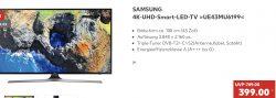 @kaufland: Samsung 4k 108cm nur 399€ (idealo ab 570€) Aktion bis 6.3.19