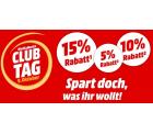 Mediamarkt: Bis zu 15% Rabatt auf Aktionsprodukte für Club-Mitglieder (kann jeder kostenlos werden)