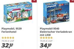 Real: Playmobil Family Fun – Ferienhotel (9539) nur 32,95€ inc. Versand (Idealo: 44,99€)