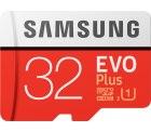 Saturn und Mediamarkt: SAMSUNG Evo Plus, 32 GB, Mini-SDHC, Micro-SDHC Speicherkarte, 95 MB/s für nur 5 Euro statt 11,06 Euro bei Idealo