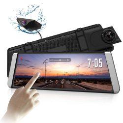 X1 DashCam Spiegel mit AHD Backup-Kamera-Kit für 146,99€ inkl. Versand anstatt 209,99€ dank Gutschein @amazon