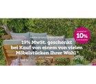 19% MwSt. geschenkt + 10% Extra-Rabatt @mömax