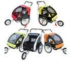 2in1 Jogger Kinderanhänger Fahrradanhänger Kinder Radanhänger 5 Farben zur Auswahl für 84,91€ statt 99€ bei ebay