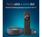 Amazon – Fire TV Stick mit Alexa-Sprachfernbedienung + Echo Dot (3. Generation) für 49€ (80,26€ PVG)