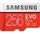 Amazon: Samsung Micro SDXC 256GB Class 10 EVO Plus U3 Speicherkarte für nur 42,03 Euro statt 54,94 Euro bei Idealo