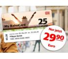 Bahn.de: 25% Rabatt auf die My BahnCard 25 bis Mai für nur 29,90 Euro statt 39,90 Euro