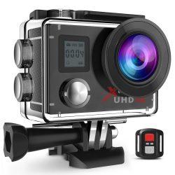 Campark Action Camera 4K WiFi 16MP Ultra HD für nur 35,99€ inkl. Versand anstatt 59,99€ dank Gutschein @amazon