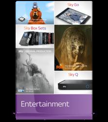 Sky Wunschpaket inkl. Sky Q UHD / 4K Receiver mit Sprachsteuerung mit 50% Rabatt