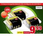 Voelkner – Energy-Ultra Batterien (48 Stück AA Mignon + 24 Stück AAA Micro) für 9,99€ (24,98€ PVG)