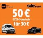 LIDL: 50 Euro Sixt-Gutschein für nur 30 Euro