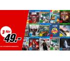 Mediamarkt: 3 Spiele für PS4, Xbox, Switch und PC für nur 49 Euro
