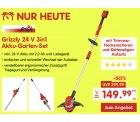 @netto: Grizzly 24 V 3in1 Akku-Garten-Set 149,99€ (idealo: ab 181,99€) inc. Versand