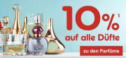 @netto online: 10% auf alle Düfte und Parfüm ohne MBW