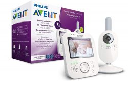 Philips AVENT SCD843/26 3.5″ Video-Babyphone für 154,99€ (Idealo 199,99€) @Amazon