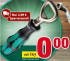 Voelkner: Wera Flaschenöffner jetzt gratis (nur 2,99 Euro Sparversand zahlen) statt 7,48 Euro bei Idealo