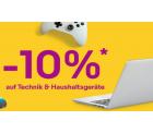 10% Rabatt auf Elektronik und Haushaltsgeräte durch Gutscheincode @eBay