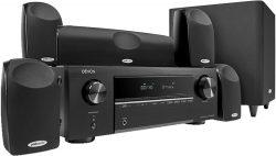 Comtech: Denon AVR-X250BT 5.1 4K AV-Receiver + Polk TL1600AVR 5.1 Lautsprecher für nur 389 Euro statt 449 Euro bei Idealo