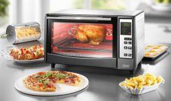 Digitalo: BEEM Cucinetta Infrarotofen mit Pizzafunktion und rotierendem Frittierkorb für nur 59 Euro statt 73,04 Euro bei Idealo