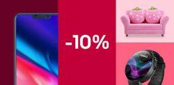 Ebay: 10% Rabatt auf neue Marken (Smartphones, Smartwatches, Scooter usw.) mit Gutschein ohne MBW