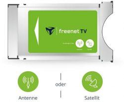 Ebay: freenet TV CI+ TV Modul DVB-T2 HD und DVB-S Sat mit 12 Monate gratis Guthaben mit Gutschein für nur 59,49 Euro statt 79,99 Euro bei Idealo