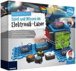 Franzis Die große Baubox: Spiel und Wissen im Elektronik-Labor für 29,95 € (53,29 € Idealo) @Franzis