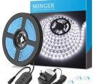 Minger – 5 Meter LED Lightstrip Tageslichtweiß 6000K für 9,59€ anstatt 14,99€ dank Gutschein @amazon