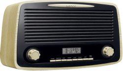Saturn: LENCO DAR-012WD FM DAB+ Retro Digitalradio mit Bluetooth für nur 39,99 Euro statt 62,97 Euro bei Idealo