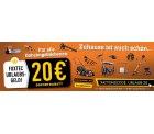 20€ Rabatt auf Gartengeräte und Co ab 100€ MBW + Versandkostenfrei @Fuxtec