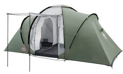 Amazon – Coleman Zelt Ridgeline 4/6 Plus Tunnelzelt mit Sonnendach für 133,99€ (222,95€ PVG)