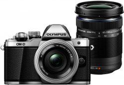 Amazon: Olympus OM-D E-M10 Mark II Systemkamera + 14-42 mm Objektiv + M.Zuiko Digital ED 40-150 mm Objektiv für 499 Euro statt 639 Euro bei Idealo