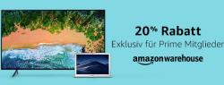 Amazon (Prime): 20% auf alle Amazon Warehouse-Artikel