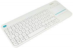 Amazon (Prime): Logitech K400 Plus Touch Wireless Tastatur mit Touchpad für nur 19,99 Euro statt 27,80 Euro bei Idealo