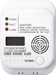 Amazon und Saturn: Smartwares Kohlenmonoxid Melder mit Display und Temperaturanzeige für nur 11 Euro statt 17,99 Euro bei Idealo
